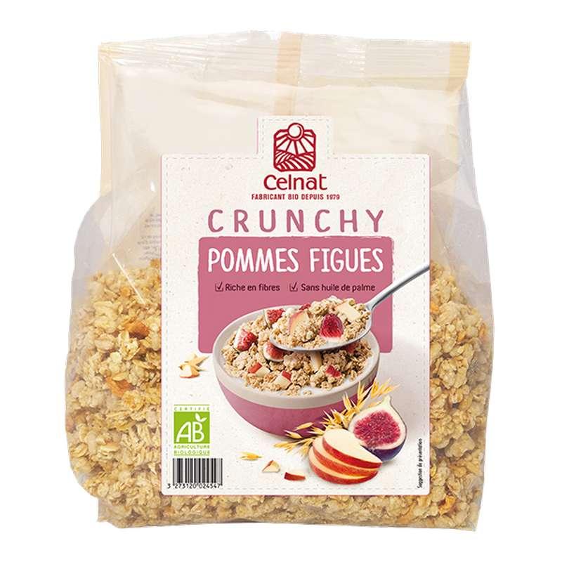 Crunchy pommes figues BIO, Celnat (500 g)