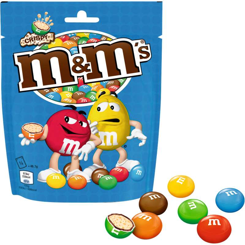 M&M's crispy (187 g)