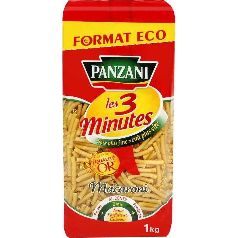 Macaroni cuisson rapide, Panzini (1 kg)