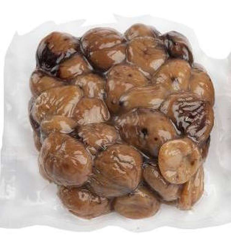 Marrons entiers cuis sous vide BIO (200 g), France