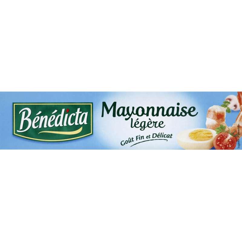 Mayonnaise extra légère en tube, Benedicta (190 g)
