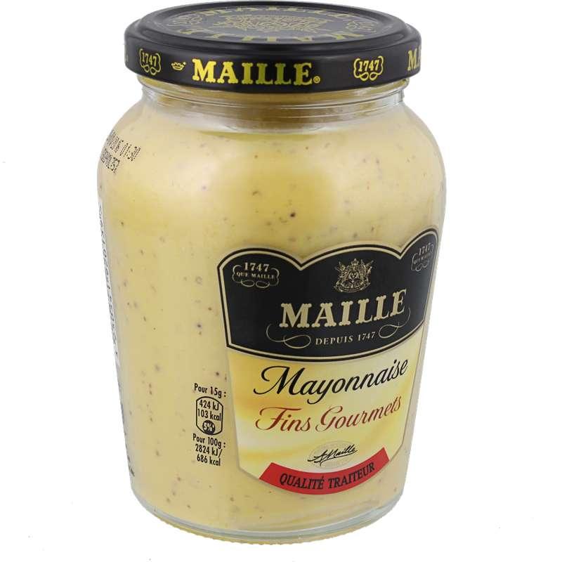 Mayonnaise Fins Gourmets qualité traiteur, Maille (320 g)