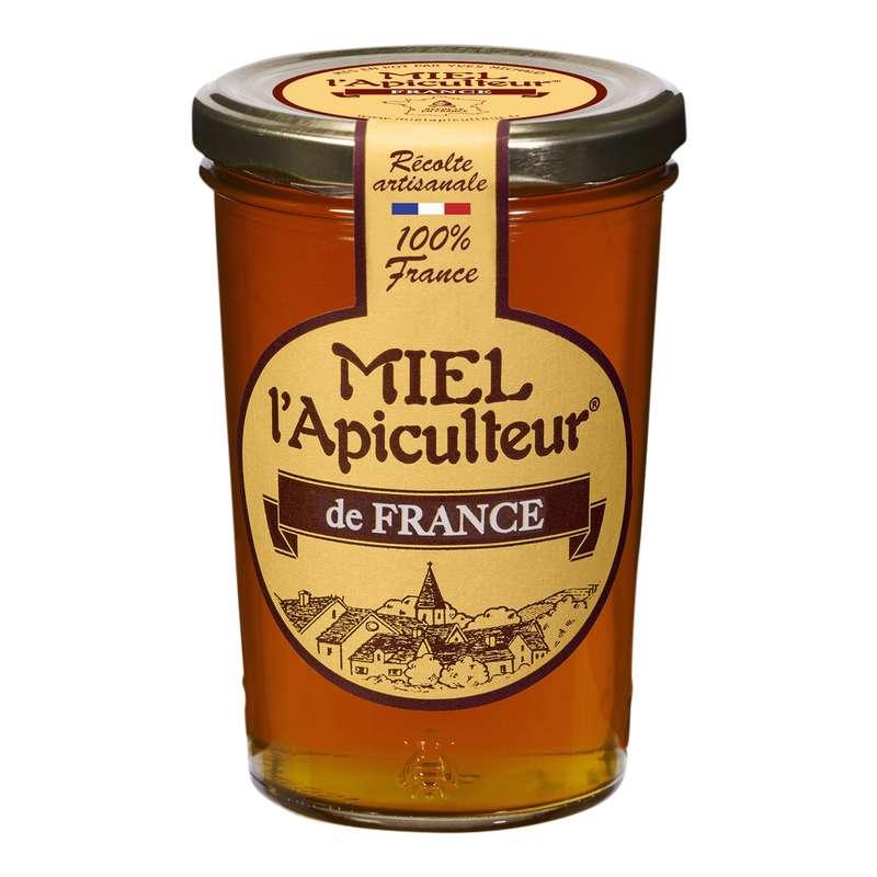 Miel de France liquide, Miel l'Apiculteur (500 g)