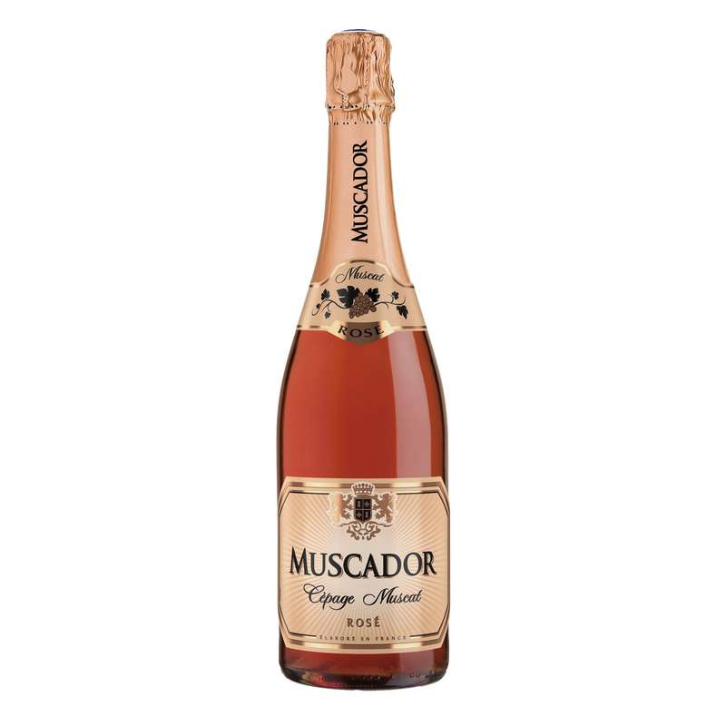 Mousseux Rose, Muscador (75 cl)