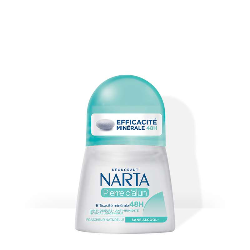 Déodorant Pierre d'Alun fraîcheur naturelle, Narta (50 ml)