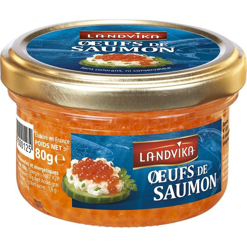 Oeufs de saumon, Landvika (80 g)