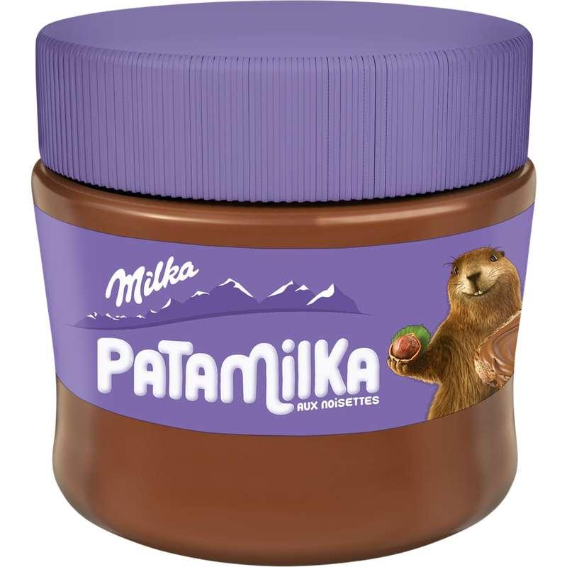 Pâte à tartiner chocolat noisette Patamilka, Milka (240 g)