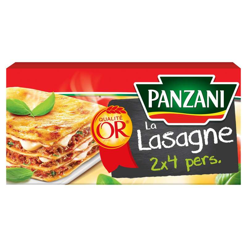 Pâtes lasagne, Panzani (500 g)