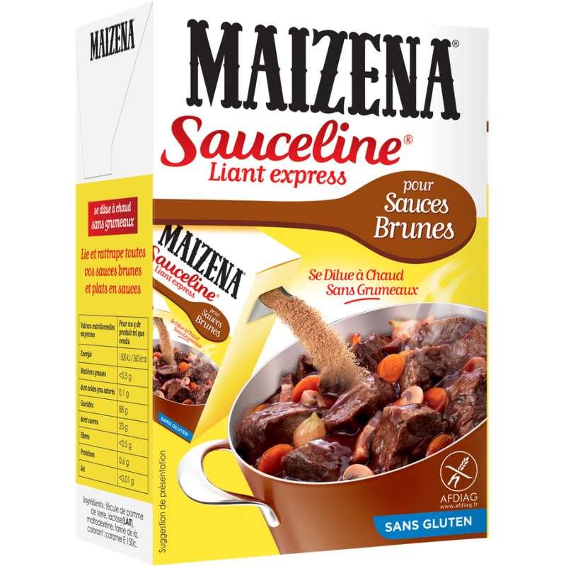 Préparation culinaire Sauceline pour sauce brunes sans gluten, Maizena (250 g)