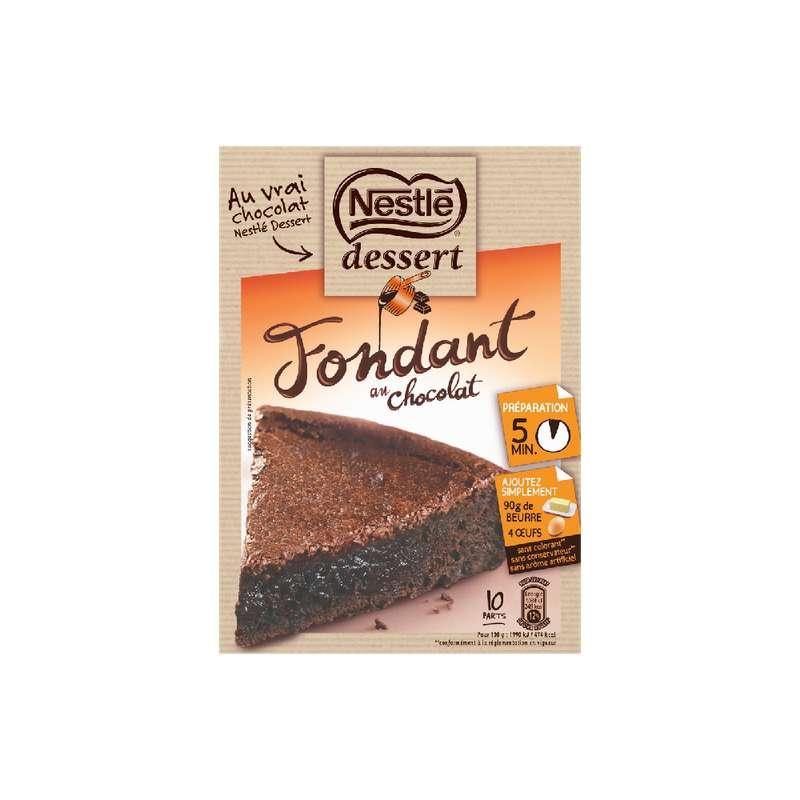 Préparation pour fondant au chocolat, Nestlé dessert (317 g)
