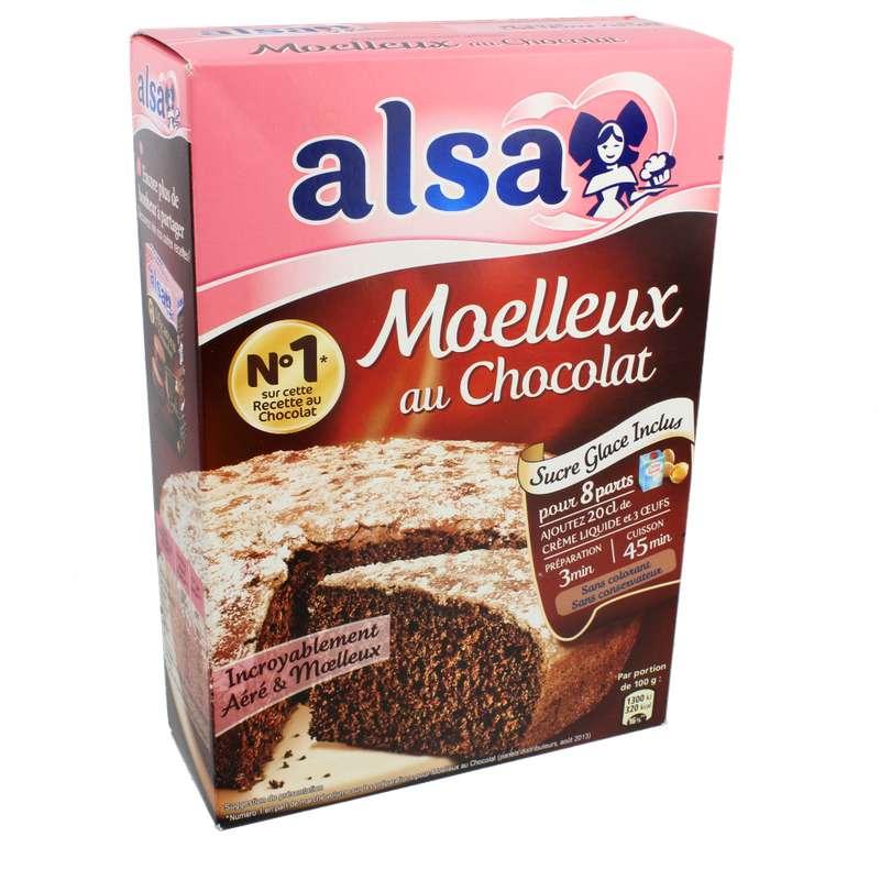 Préparation pour gâteau au chocolat, Alsa (435 g)