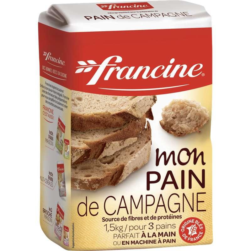 Préparation pour pain de campagne, Francine (1,5 kg)