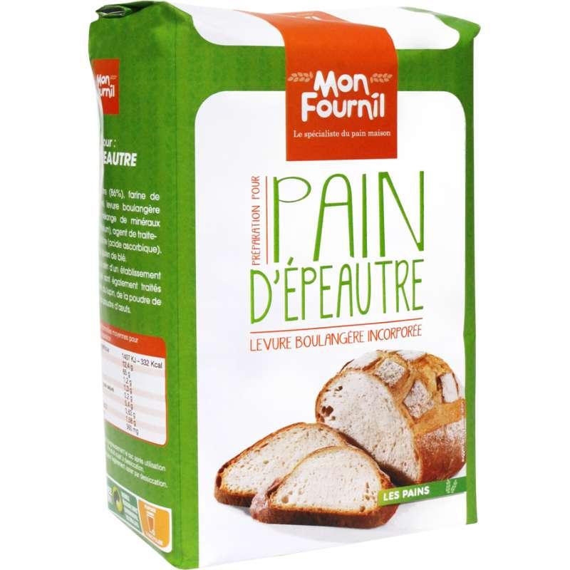 Préparation pour pain d'épautre, Mon Fournil (1 kg)