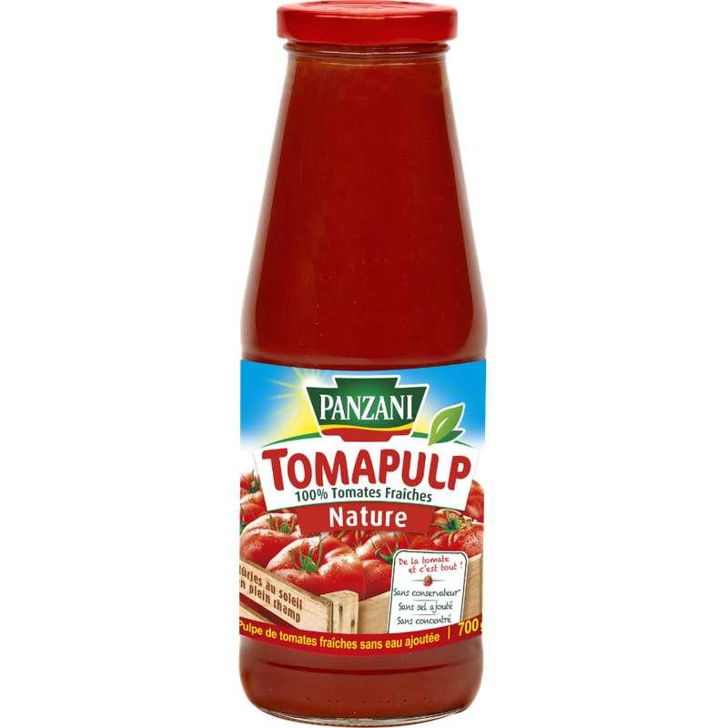 Pulpe de tomates fraîches Tomapulp, Panzani (700 g)