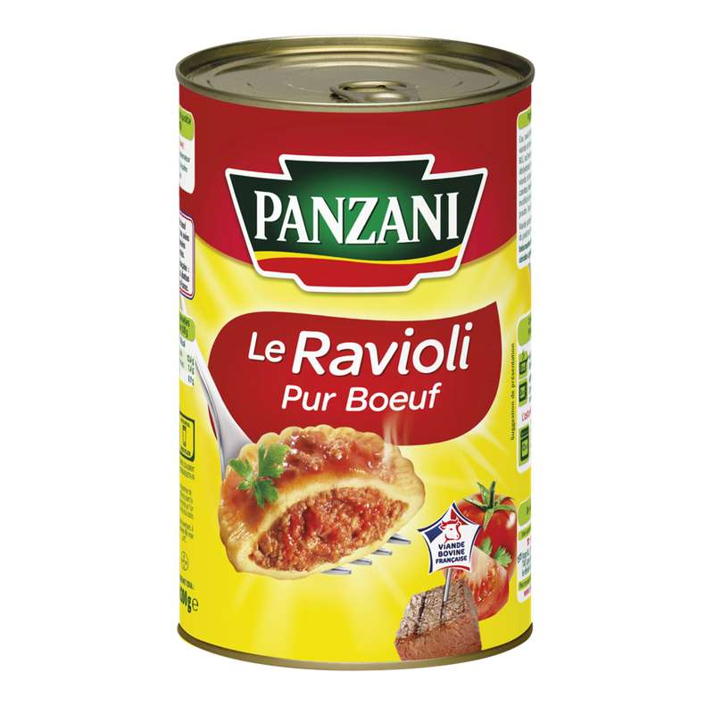 Ravioli Pur Boeuf, Panzani (1,2 kg)