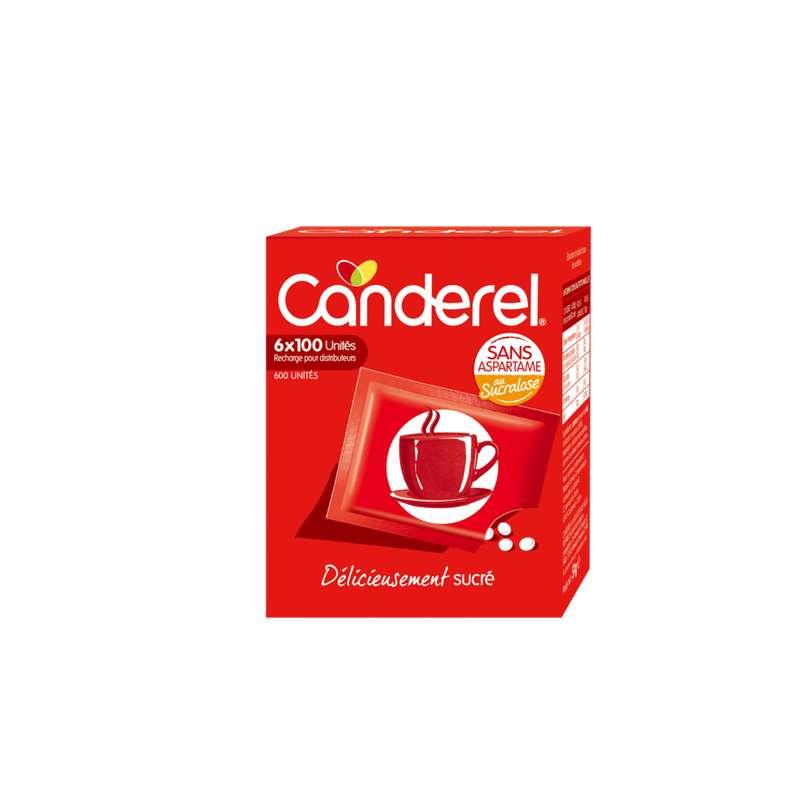 Edulcorant recharge comprimés, Canderel (x 600)