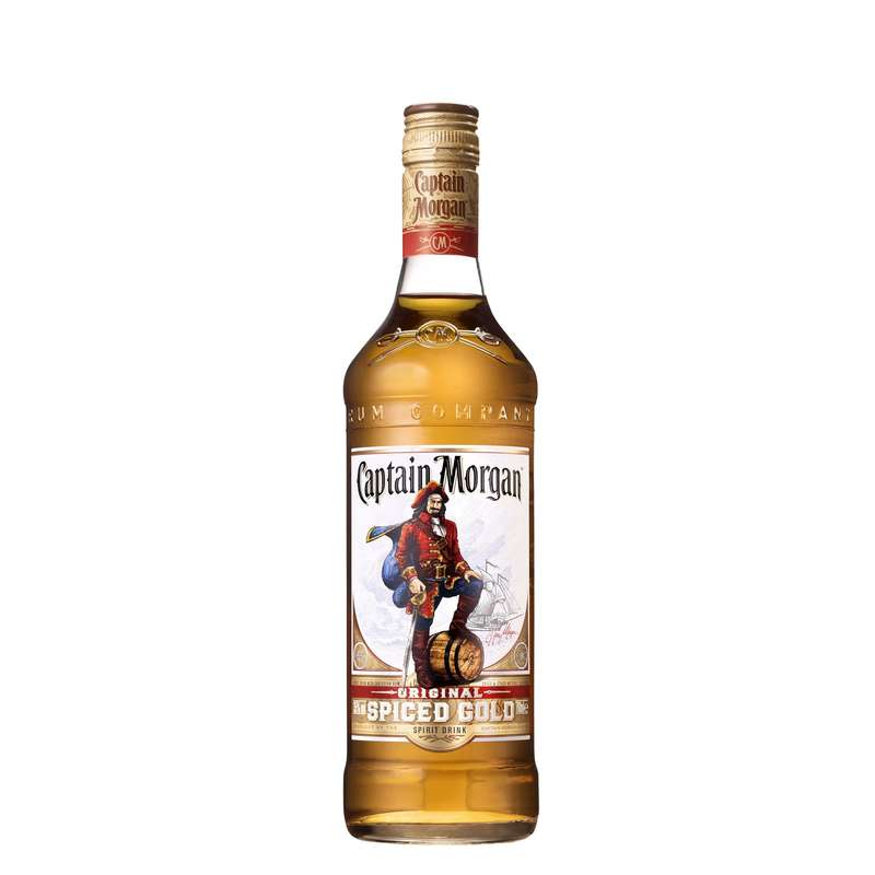 Rhum Spiced Gold, Captain Morgan (70 cl)