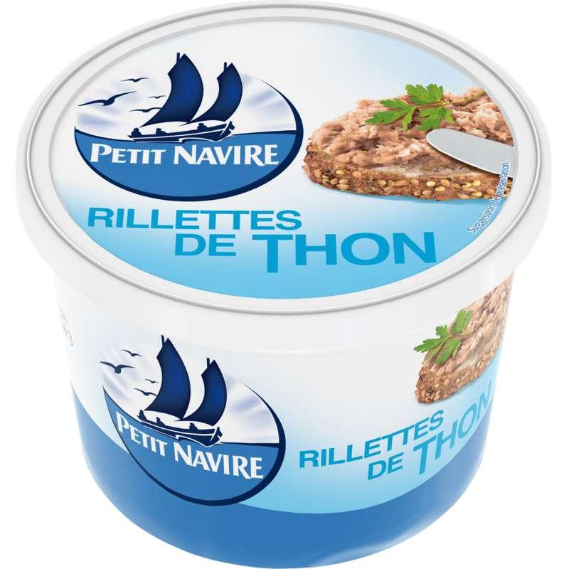 Rillettes de thon, Petit navire (220 g)