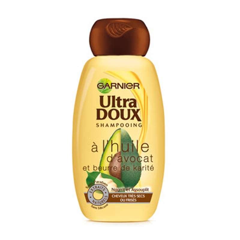 Shampoing à l'avocat et au karité, Ultra Doux (250 ml)