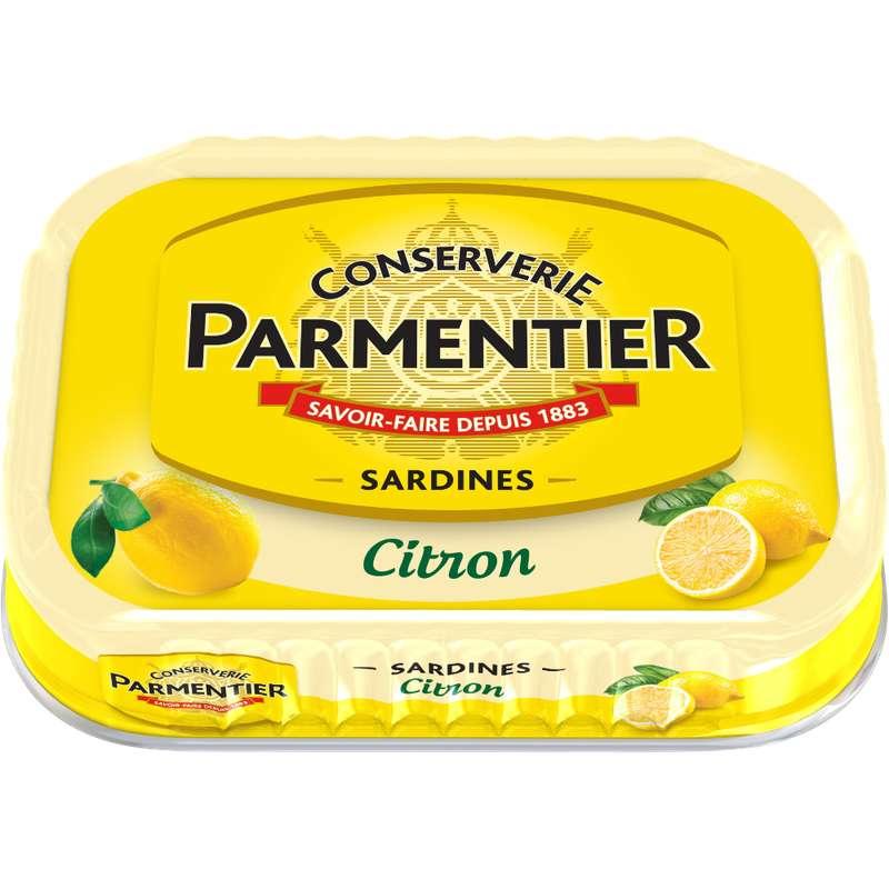 Sardine à l'huile de tournesol et au citron, Parmentier (135 g)
