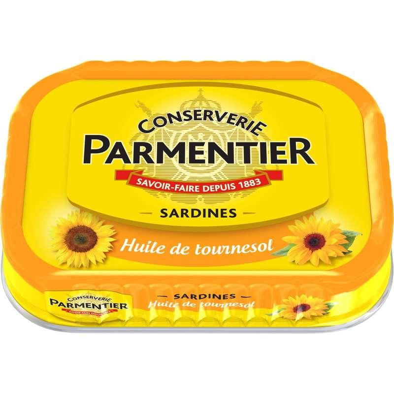 Sardines à l'huile de tournesol, Parmentier (135 g)