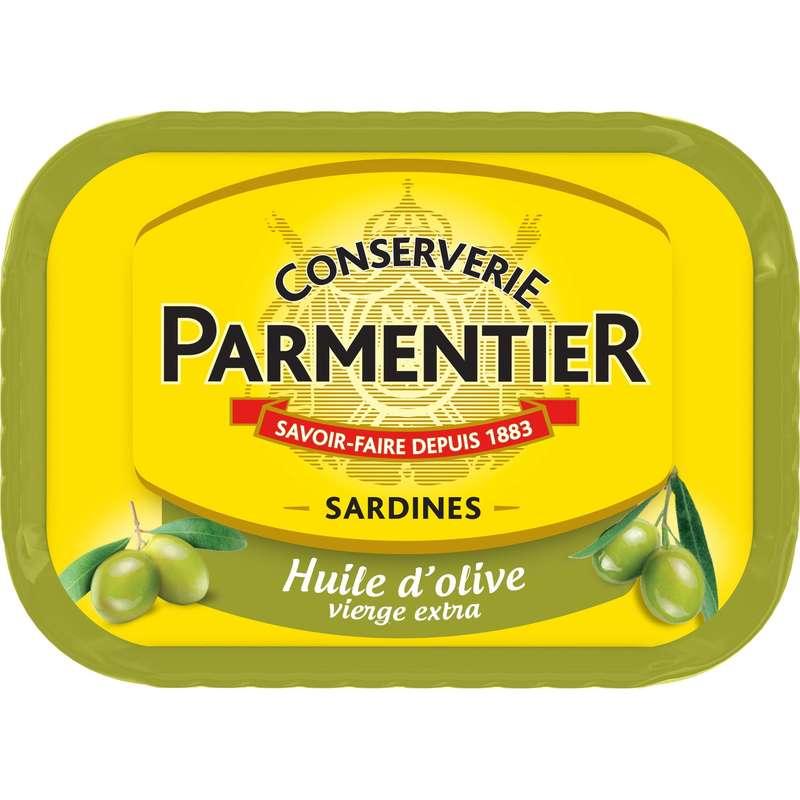 Sardines à l'huile d'olive, Parmentier (135 g)