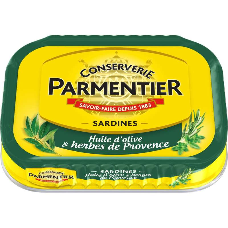 Sardines huile olive et herbes de provence, Parmentier (135 g)