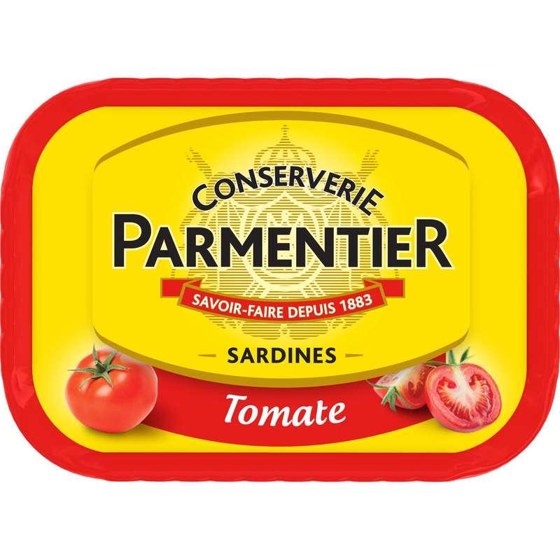 Sardines à la tomate, Parmentier (135 g)