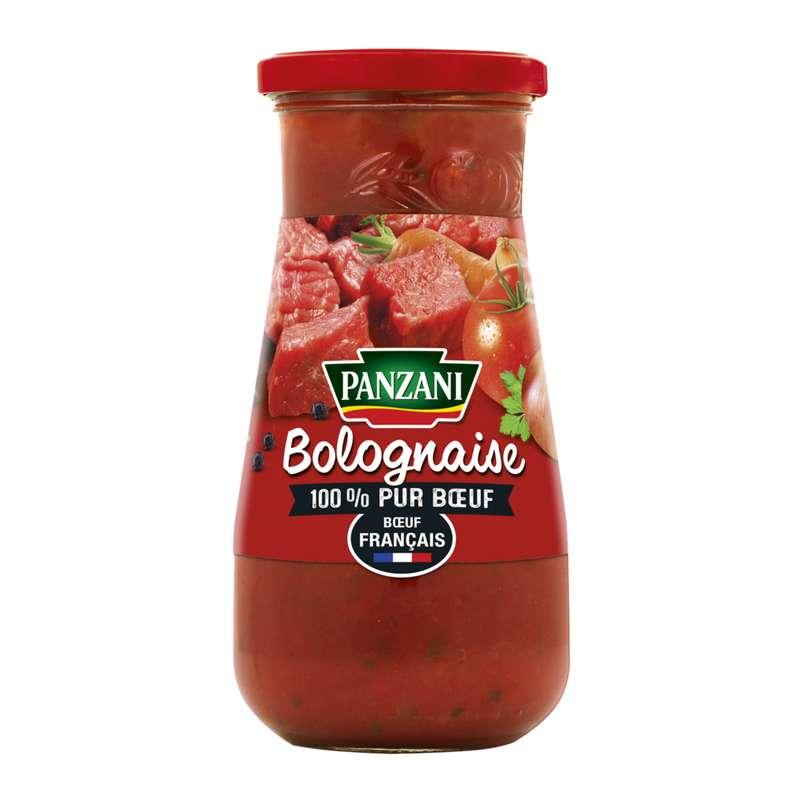 Sauce bolognaise 100% pur boeuf Français, Panzani (400 g)