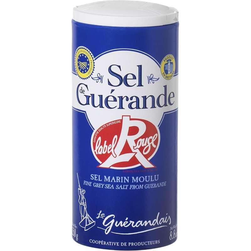 Sel marin moulu de Guérande Label Rouge, Le Guérandais (250 g)
