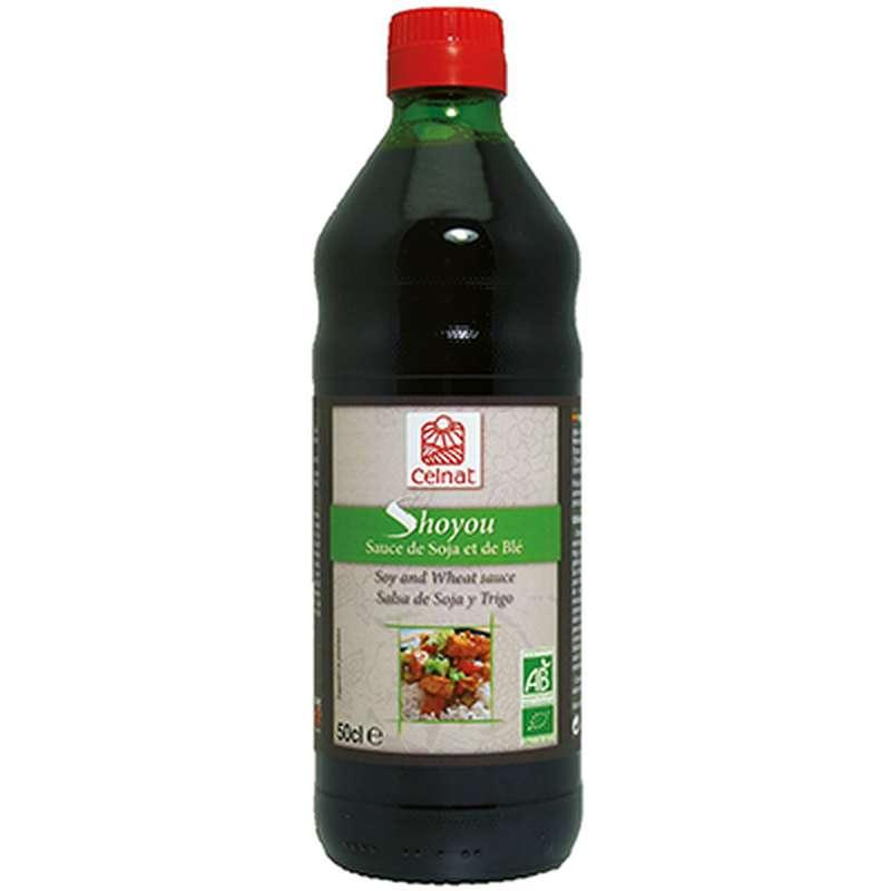 Shoyou (sauce de soja et blé) BIO, Celnat (50 cl)