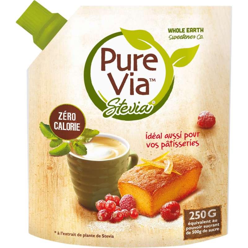 Stévia en poudre, Pure Via (250 g)