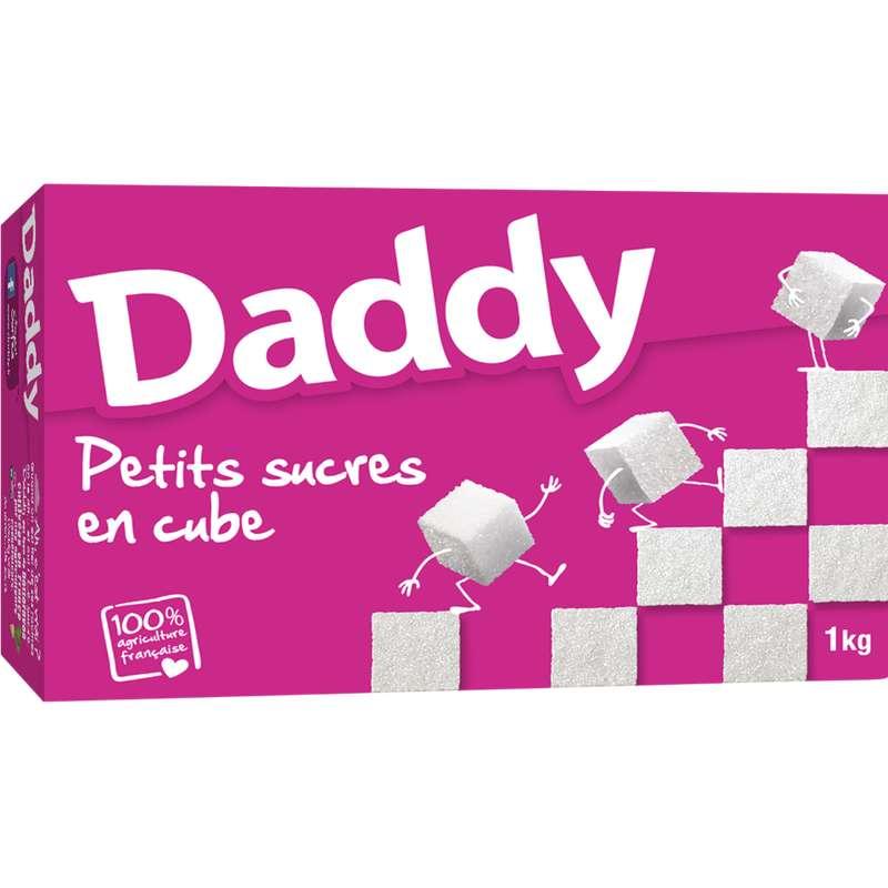 Sucre blanc petits cubes en morceaux, Daddy (1 kg)
