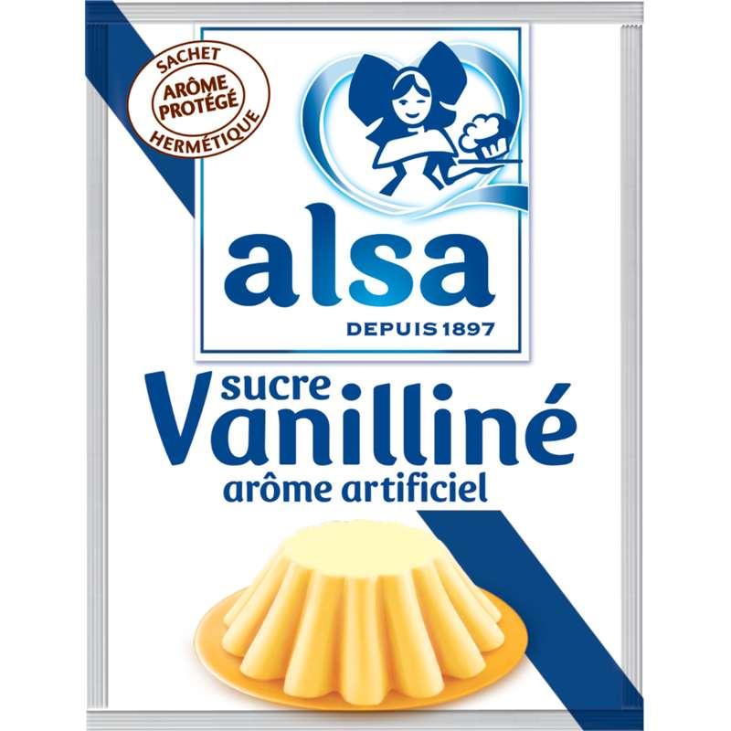 Sucre vanilliné, Alsa (x 12 sachets, 90 g)