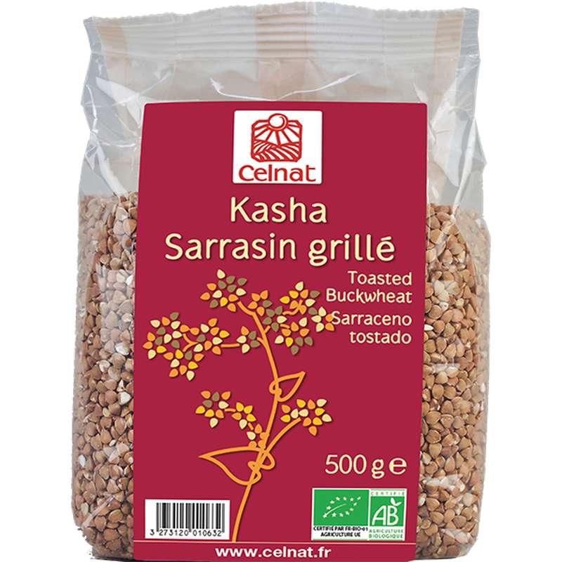 Kasha sarrasin grillé BIO, Celnat (500 g)
