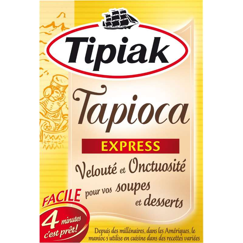 Tapioca express, Tipiak (250 g)