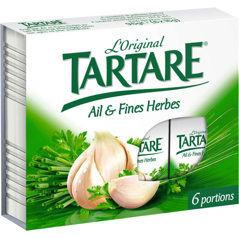 Tartare Ail & Fines Herbes en portions (x 6, 96 g)