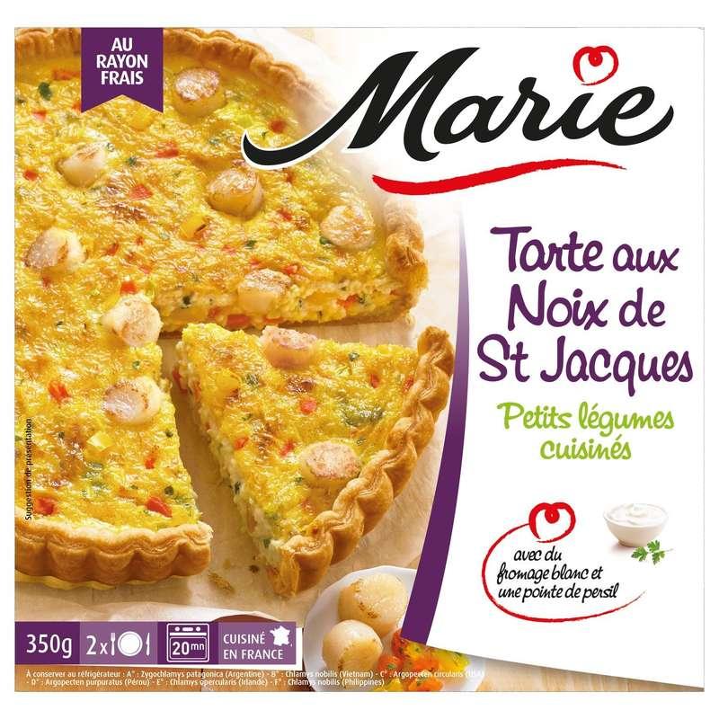 Tarte aux noix de Saint-Jacques, Marie (350 g)