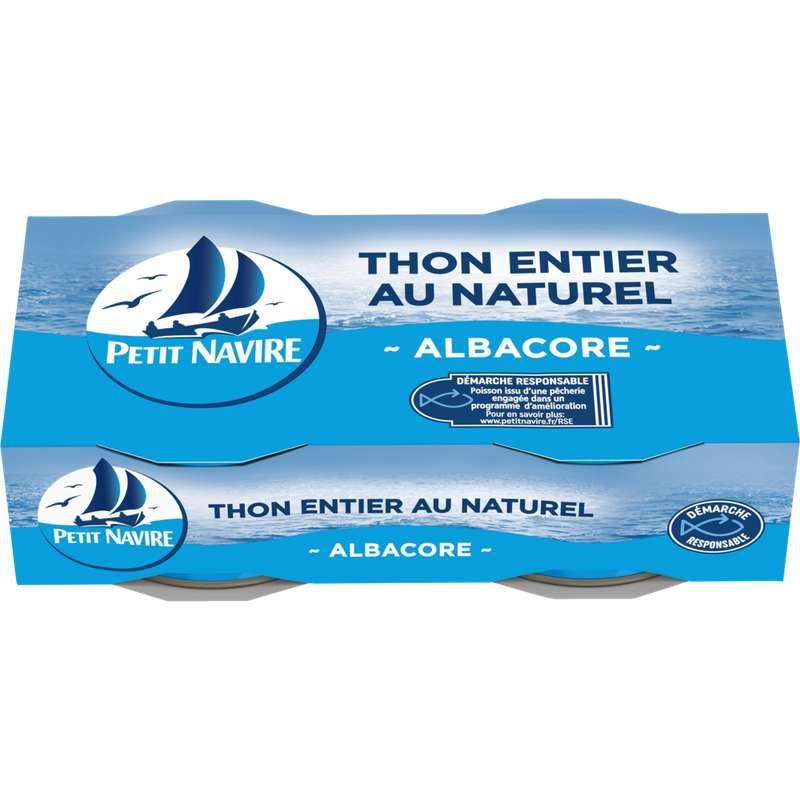 Thon albacore au naturel, Petit Navire (2 x 56 g)