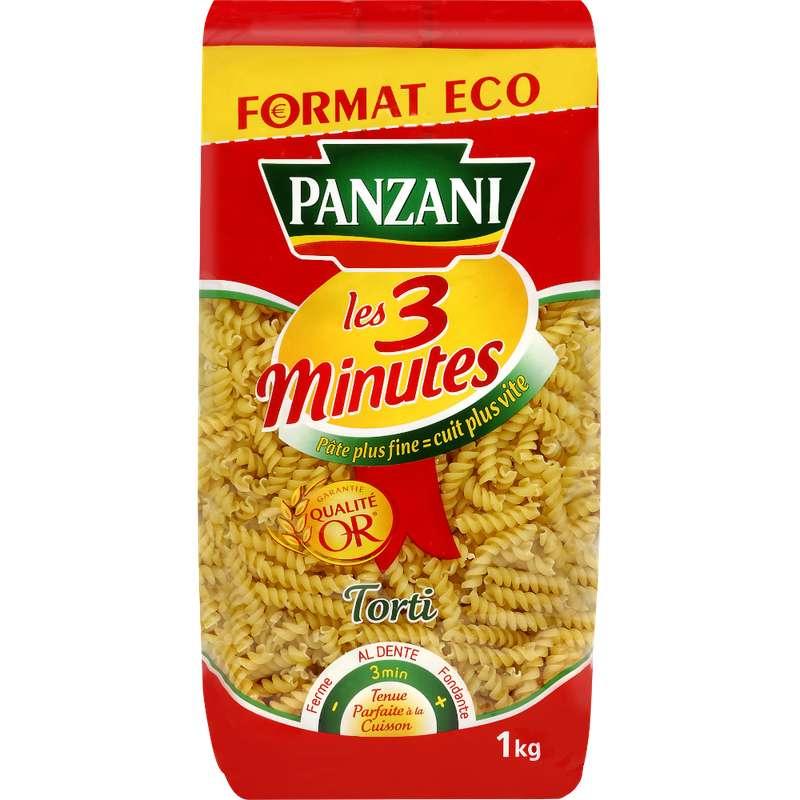 Torti cuisson rapide, Panzani (1 kg)