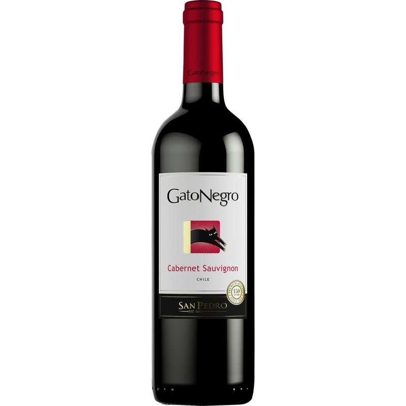 Vin Rouge Cabernet Sauvignon, Gato Negro (75 cl)