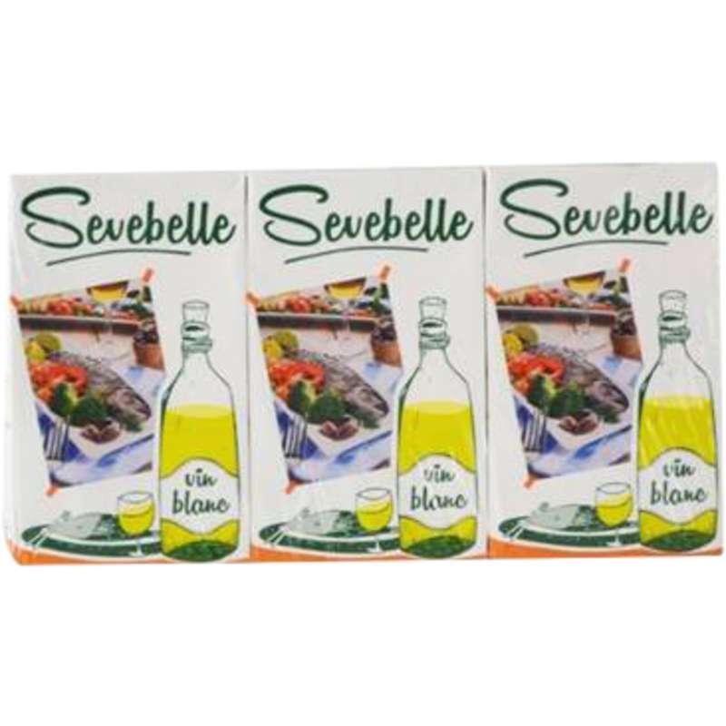 Vin blanc spécial cuisine, Sevebelle (3 x 25 cl)