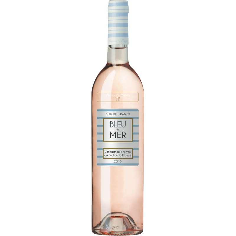 Vin rosé de pays d'Oc, Bleu de mer (75 cl)