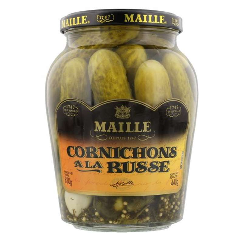 Cornichons Russe Maille   (440 g)