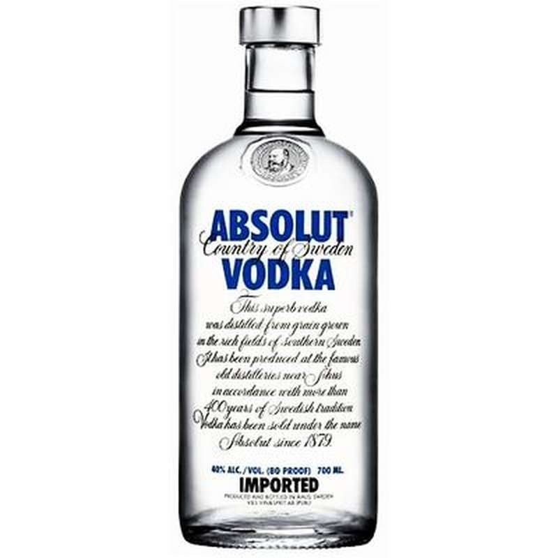 Vodka Absolut (70 cl)