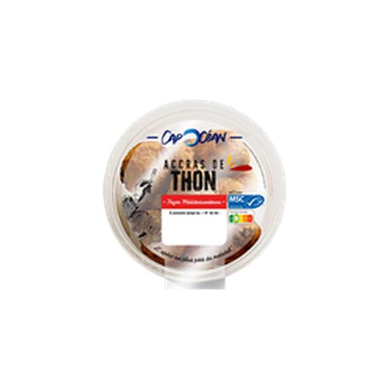 Accras de thon cuisinés à la méditerranéenne, Cap Océan (165 g)
