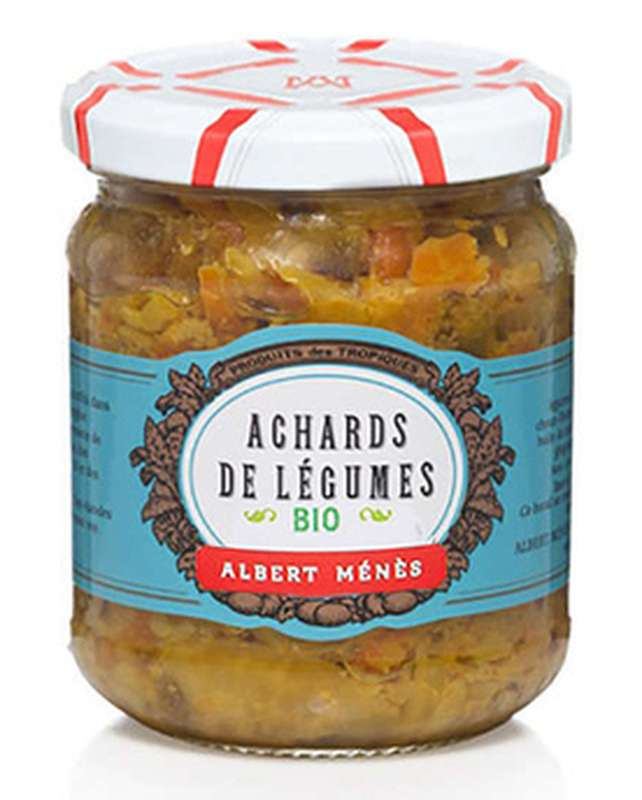 Achards de légumes BIO, Albert Ménès (200 g)