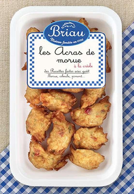 Acras de morue à la Créole, Maison Briau (200 g)