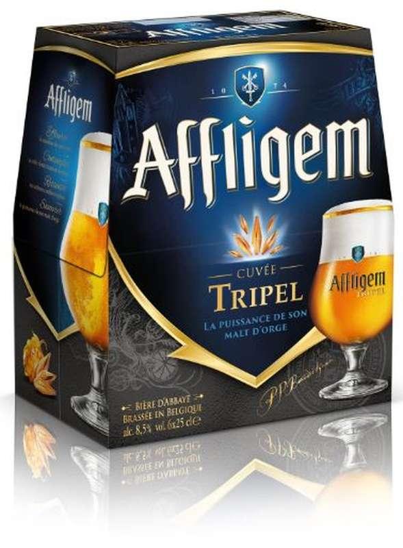 Pack d'Affligem Tripel d'abbaye, 8,5° (6 x 25 cl)