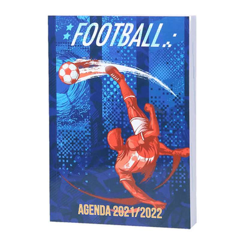 Agenda scolaire Foot 2021-2022, Phileas (11 x 17 cm)